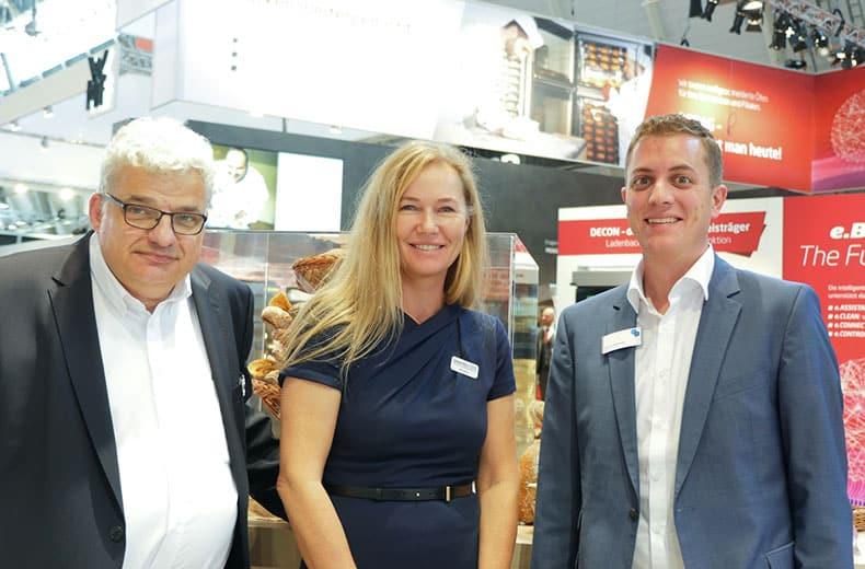 Heinz-Dieter Polfers, Silke Klaus und David Bercher