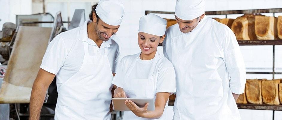 Illustration zu Bedarfsprognosen für Bäckereien in brand eins