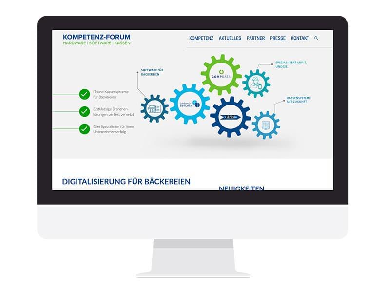 Das Kompetenz-Forum bildet Expertise und digitale Vernetzung für Bäckereien mit neuer gemeinsamer Webseite ab.