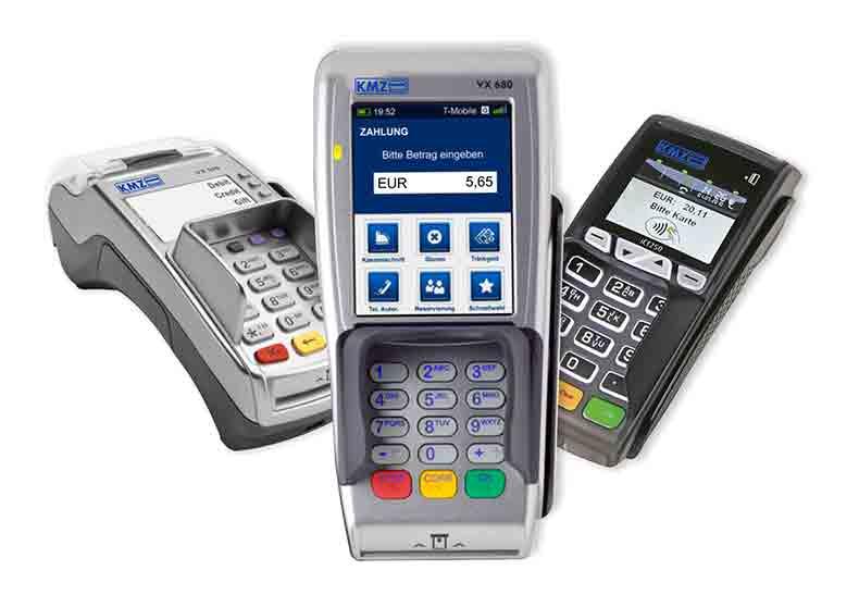 Kassenspezialist KMZ bietet moderne Lösungen für das bargeldlose Bezahlen an.